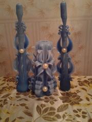 Свечи декоративные резные